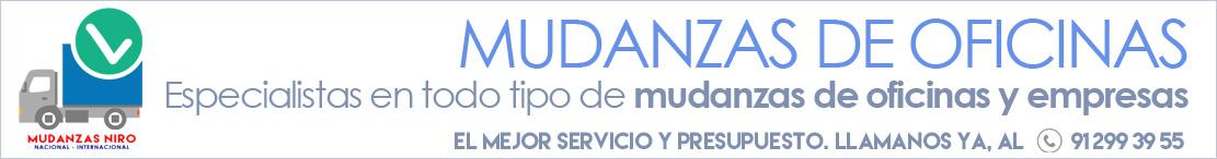Servicio de mudanzas de oficinas en madrid mudanzas niro for Mudanzas de oficinas